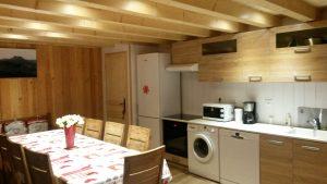 LA cuisine de notre grand gite dans le Puy de Dome