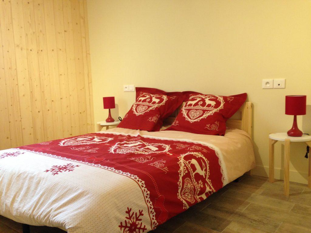 Les chambres de notre chalet dan le Puy-de-Dome